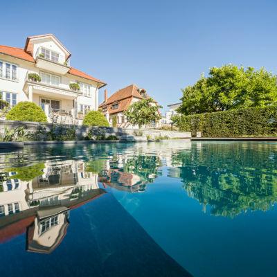 Ihr Traumgarten mit einem TeichMeister Schwimmteich
